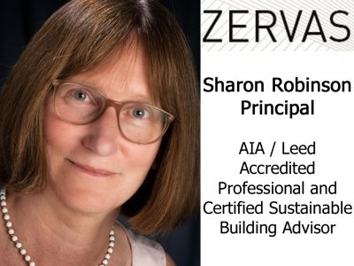 Zervas Architects - Principal - Sharon Robinson